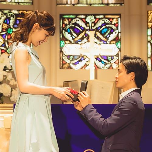 指輪以外のプロポーズ